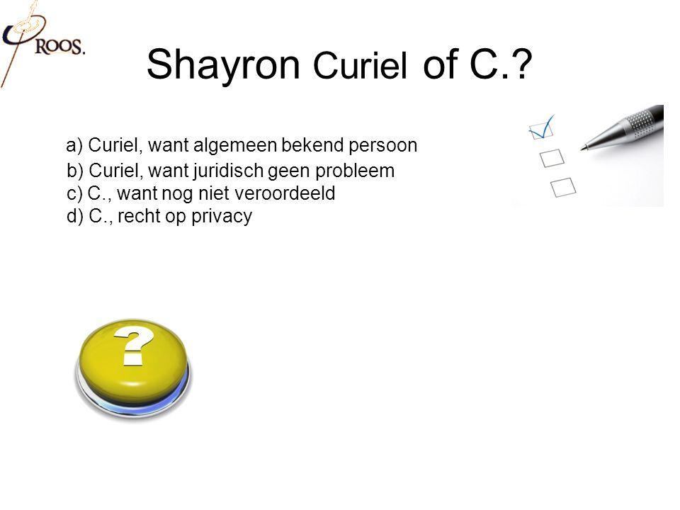 Shayron Curiel of C..