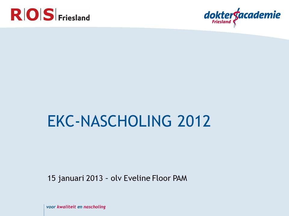 EKC-NASCHOLING 2012 15 januari 2013 – olv Eveline Floor PAM