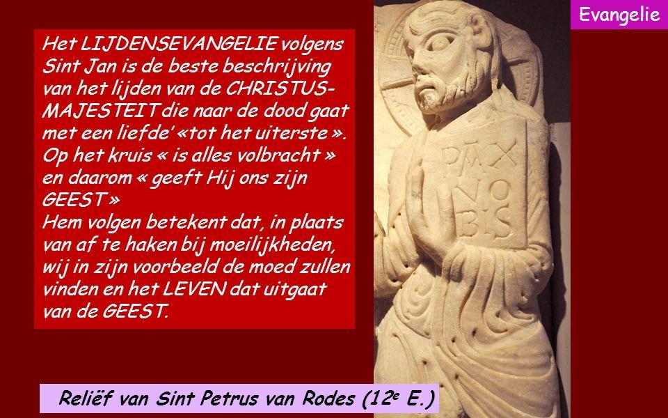 Acclamatie (Fil.2,8-9) Christus is voor ons gehoorzaam geworden tot de dood, tot de dood aan een kruis. Daarom heeft God Hem hoog verheven en Hem de n