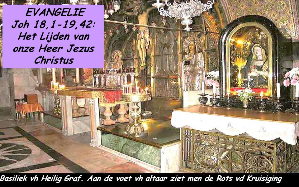 Evangelie Het LIJDENSEVANGELIE volgens Sint Jan is de beste beschrijving van het lijden van de CHRISTUS- MAJESTEIT die naar de dood gaat met een liefd