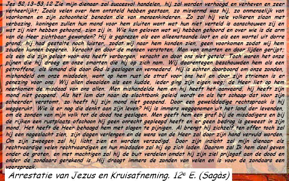Pantokrátor v.Engolasters. 12 e Eeuw Andorra GOEDE VRIJDAG is een van de mooiste dagen van het jaar. Jezus is gestorven om ons het LEVEN te geven. Het