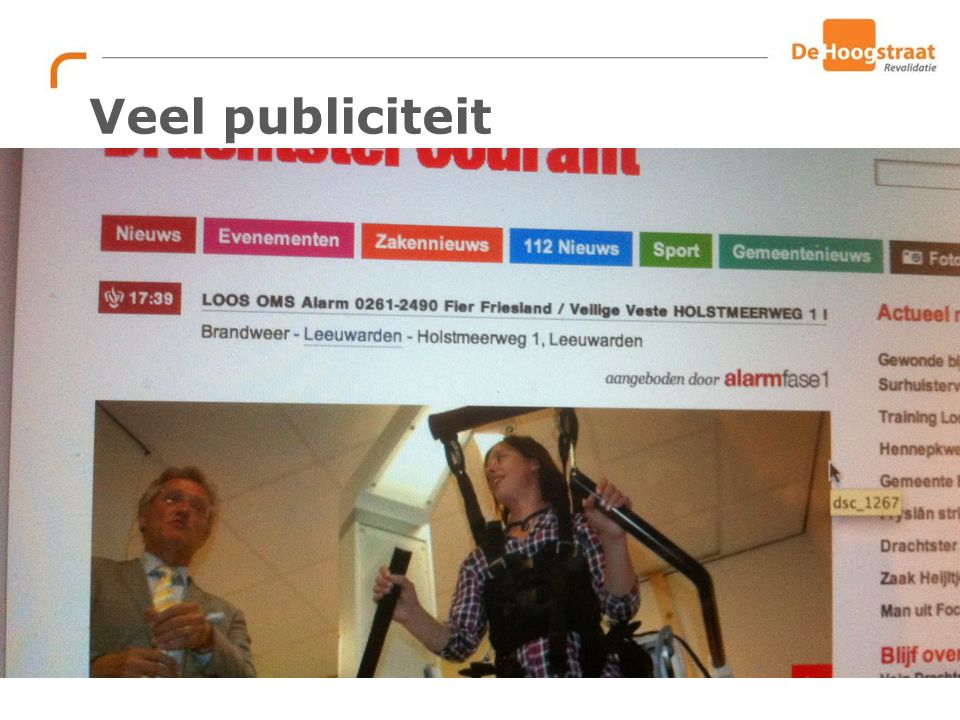 DANK VOOR UW AANDACHT!! S.v.langeveld@dehoogstraat.nl
