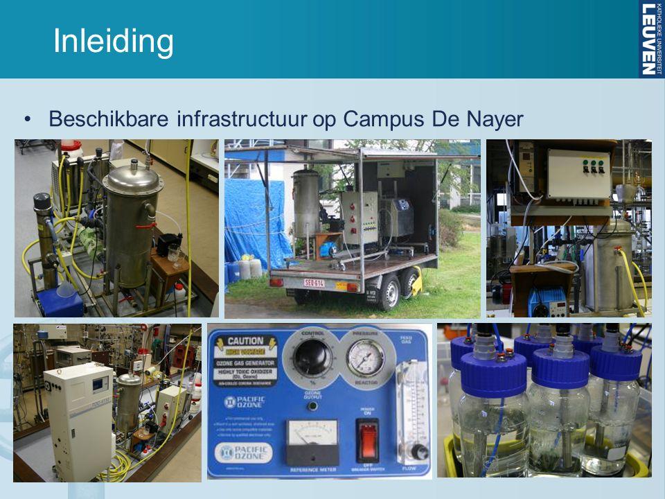 Inleiding Beschikbare infrastructuur op Campus De Nayer