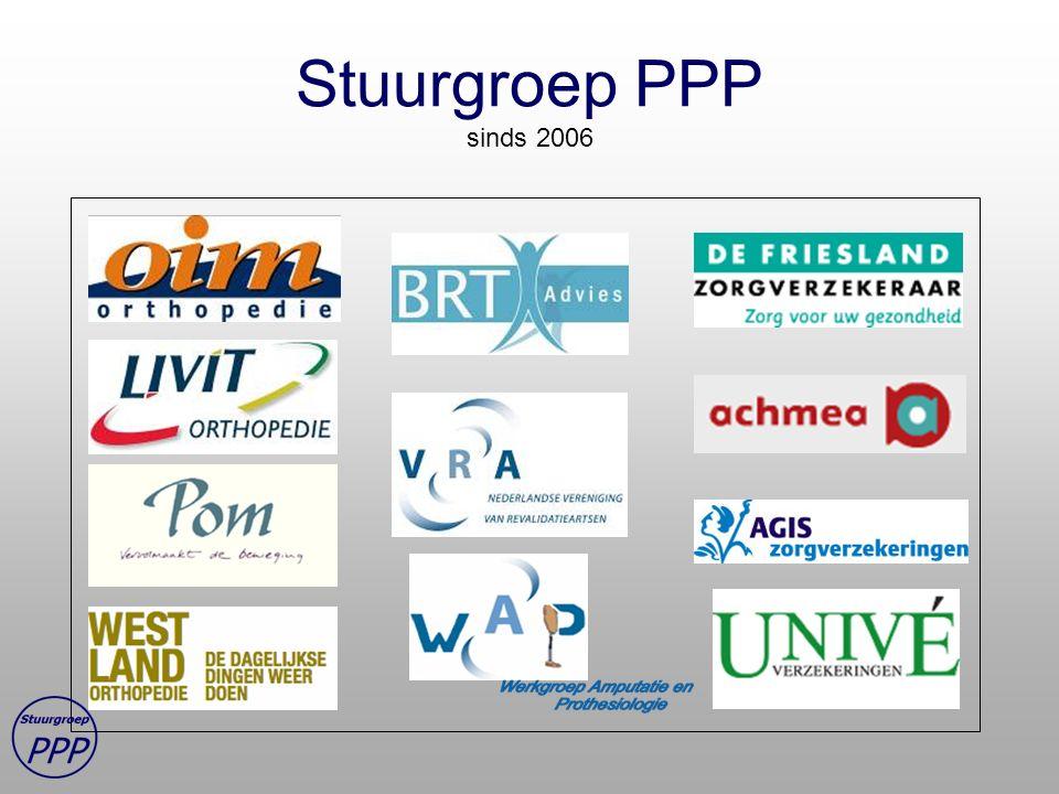 Stuurgroep PPP sinds 2006