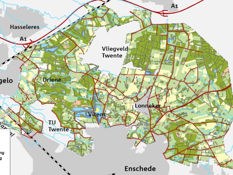 Variabelen Onderscheiden programma's Onderscheiden effecten milieu en economie Versterking natuurwaarden Inpassing bestaande infrastructuur Inpassing bruikbare vastgoed Relatie bestemming – bodemkwaliteit Residuele grondwaarde rijk