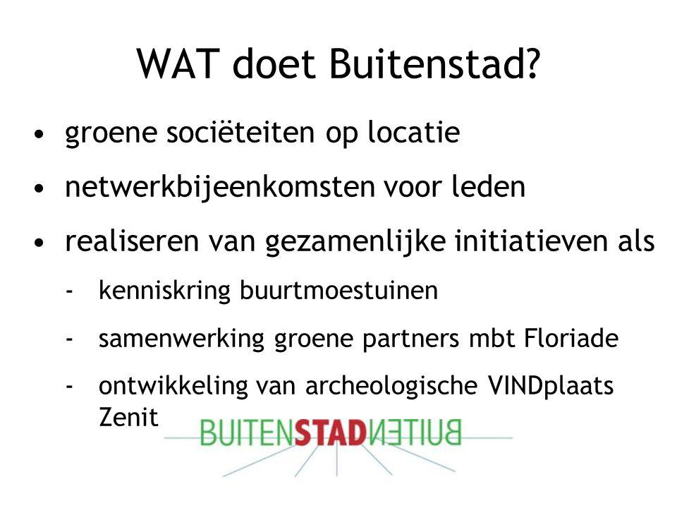 WAT doet Buitenstad.