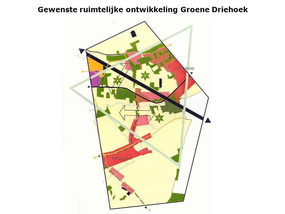 Gewenste ruimtelijke ontwikkeling Groene Driehoek