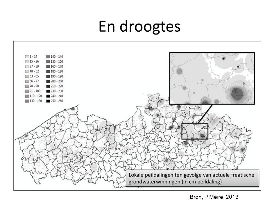 En droogtes Bron, P Meire, 2013