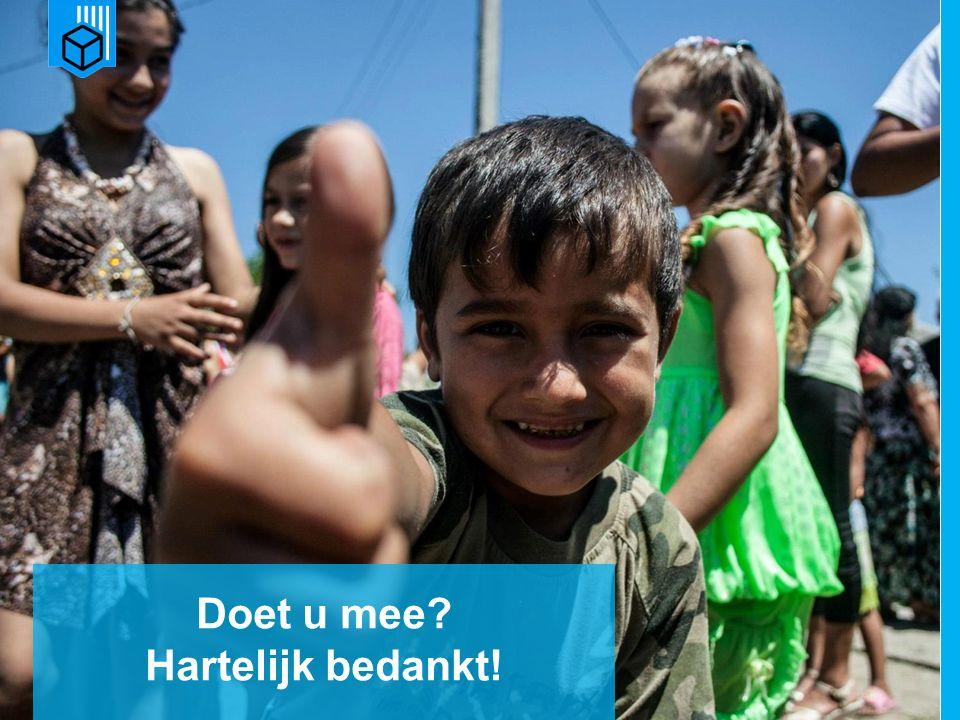 www.dorcas.nl Doet u mee Hartelijk bedankt!