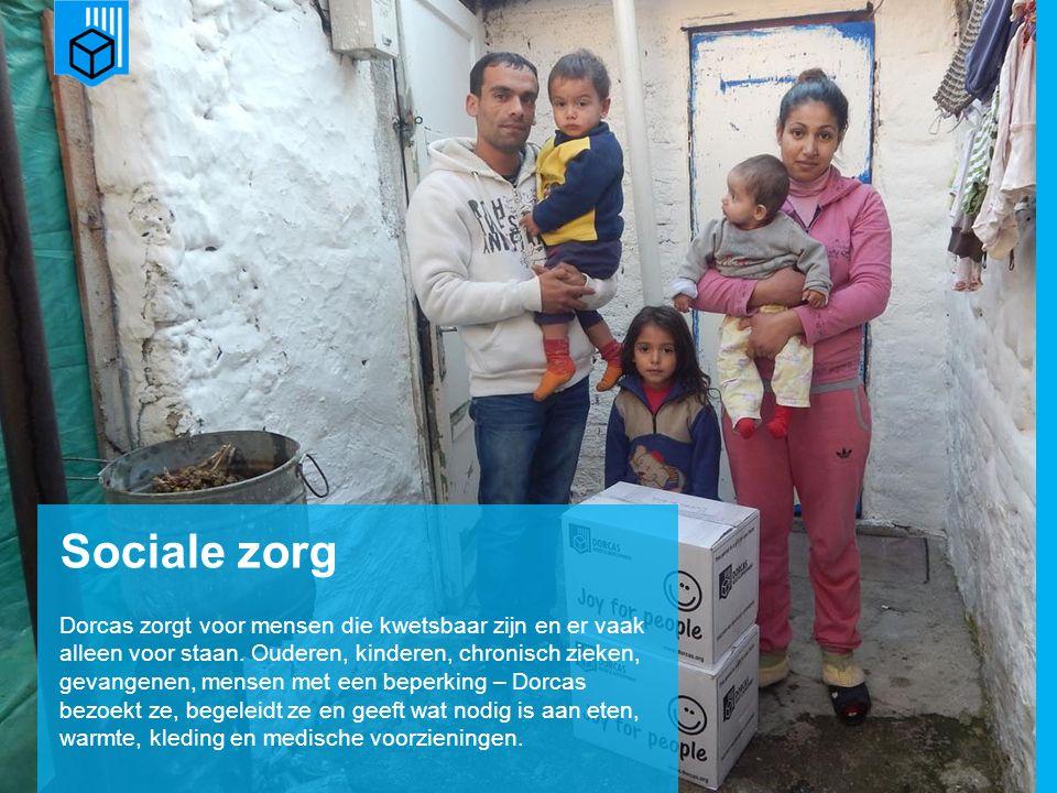 www.dorcas.nl Sociale zorg Dorcas zorgt voor mensen die kwetsbaar zijn en er vaak alleen voor staan.