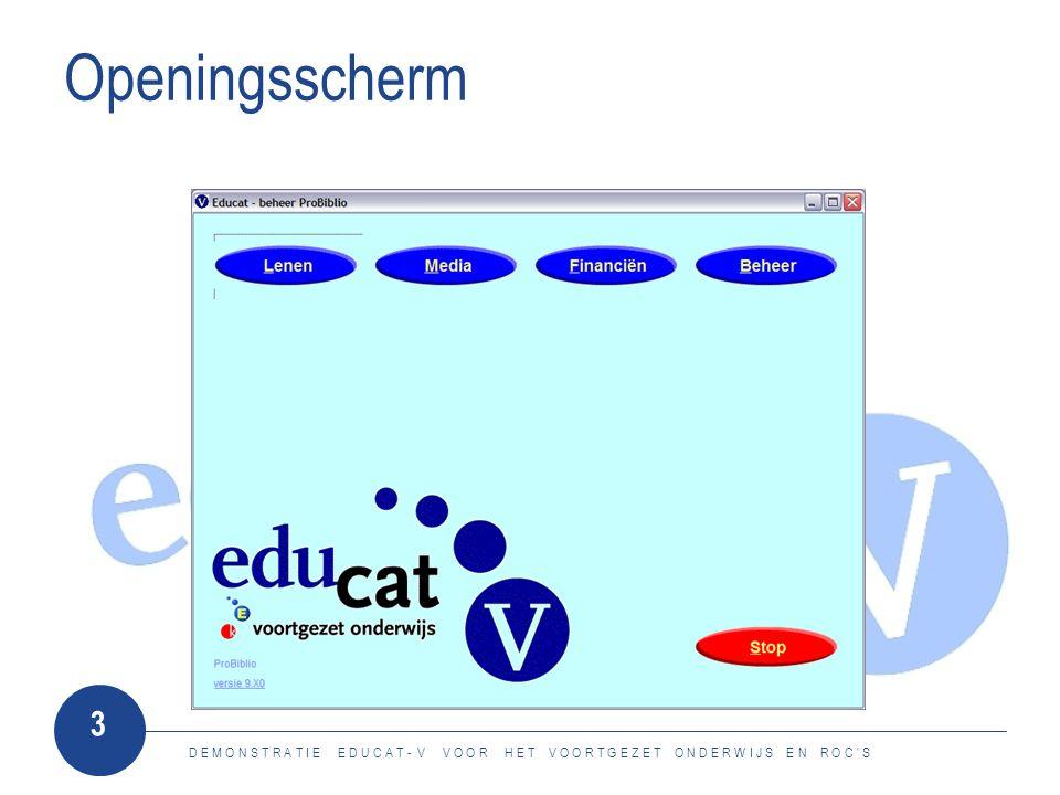 3 Openingsscherm