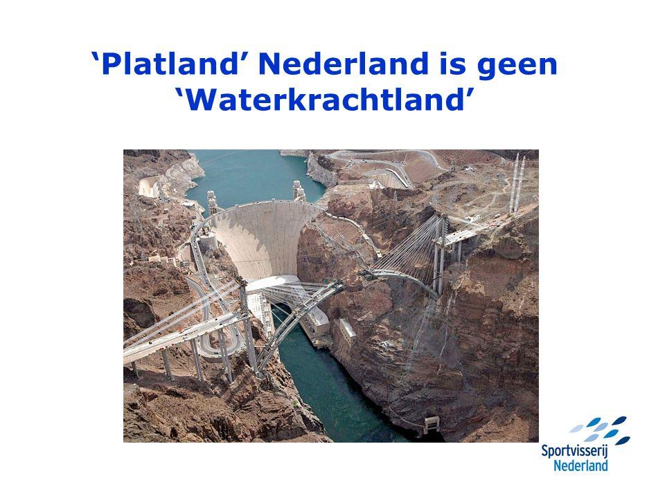 'Platland' Nederland is geen 'Waterkrachtland'
