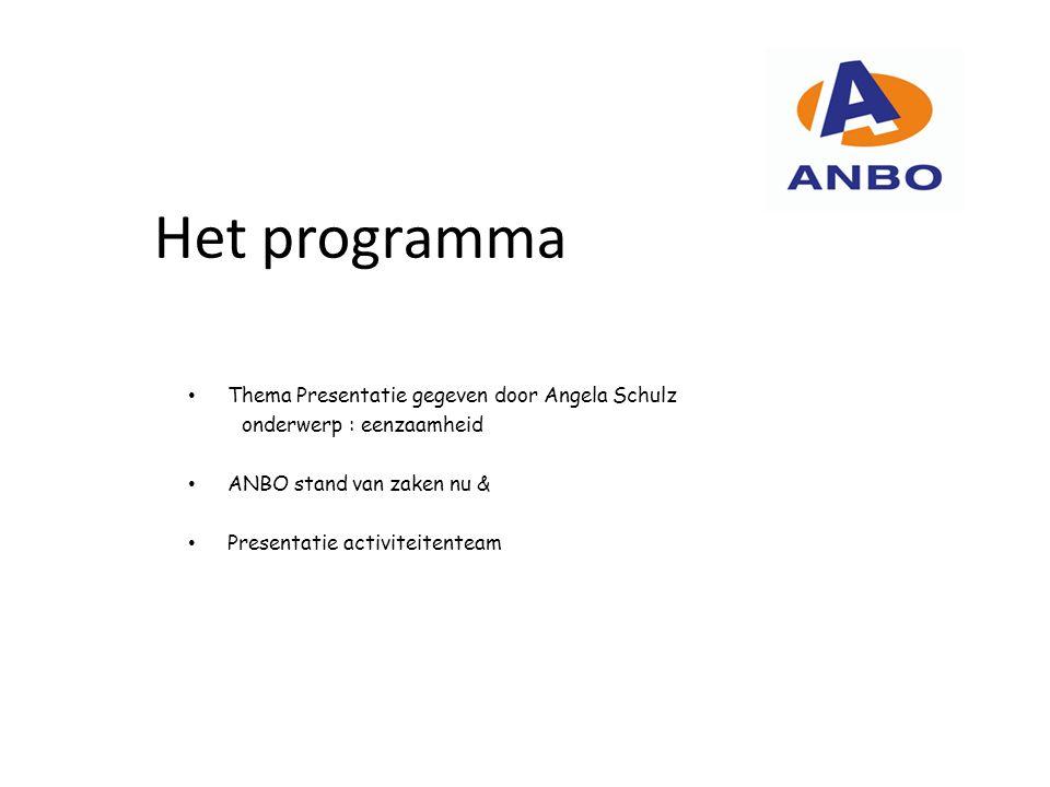 Nieuwsbrief – flyers – website: Joop van Haaren De eindverzorging van de kwartaal nieuwsbrief, flyers en bijhouden/actualiseren van de ANBO website.
