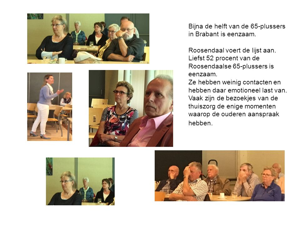 Binnen de ANBO Roosendaal gaan we ook een potje lief en leed instellen.