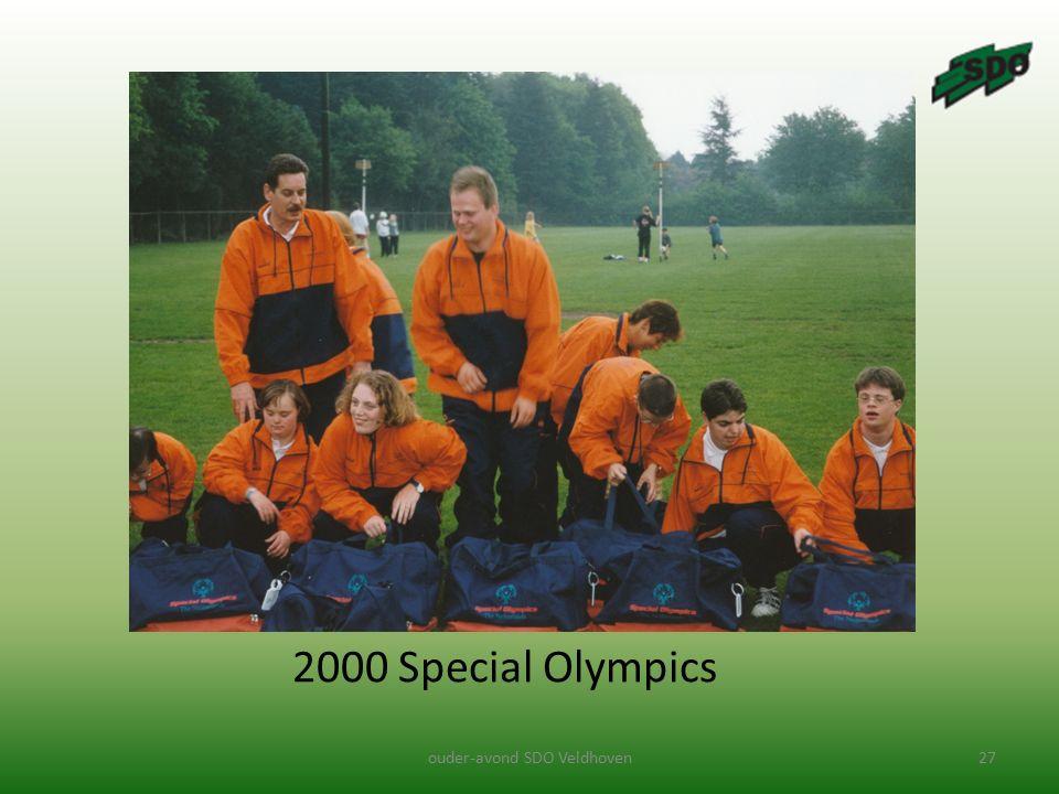 ouder-avond SDO Veldhoven27 2000 Special Olympics