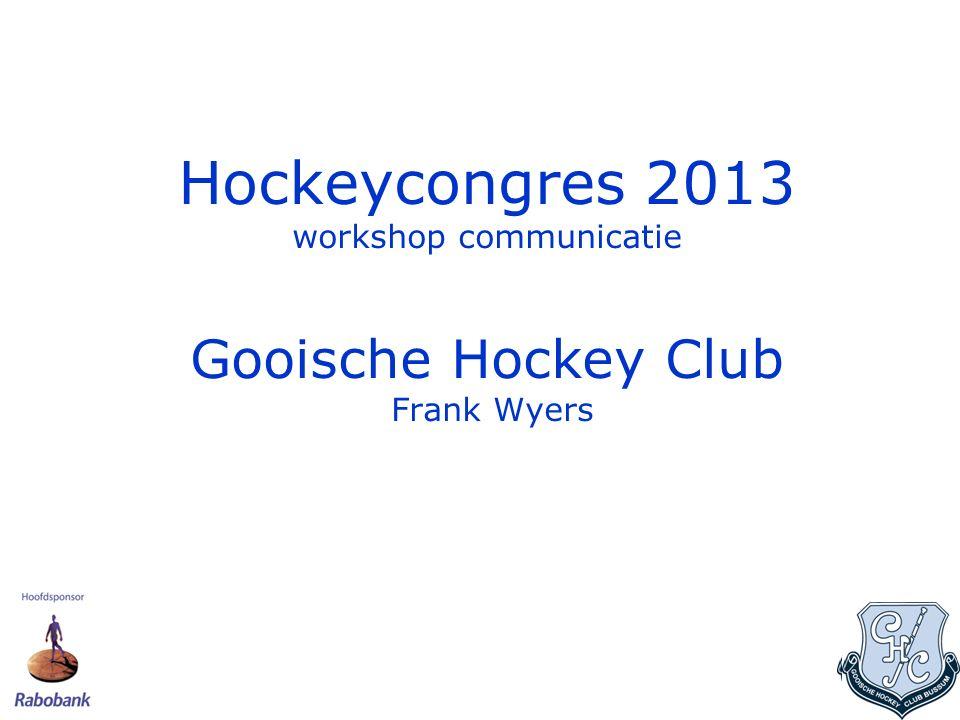 Gooische Gooische telt 2047 leden Ligt in Bussum Grootste hockeyclub in 't Gooi Van oudsher familieclub Grootste Veteranenclub van Nederland Grootste Trimhockeyclub van Nederland