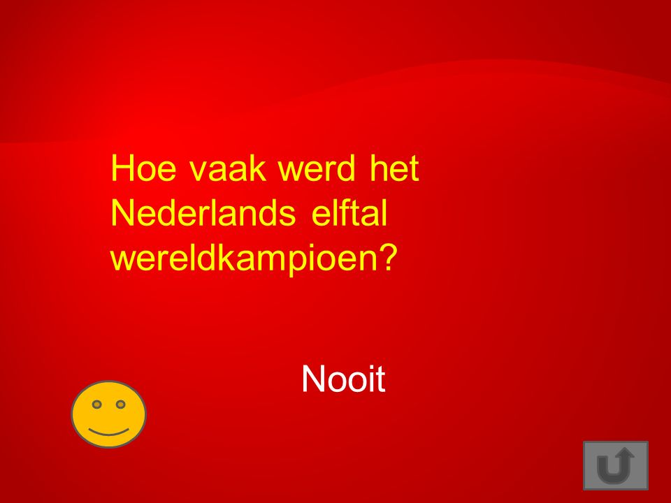 Hoe vaak werd het Nederlands elftal wereldkampioen? Nooit