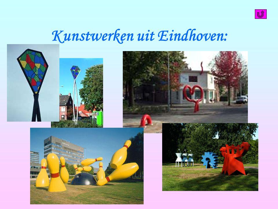 Kunstwerken uit Eindhoven: