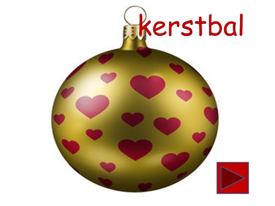 kerstboom begint met de letter k. Zie jij nog een woord dat begint met de letter k.