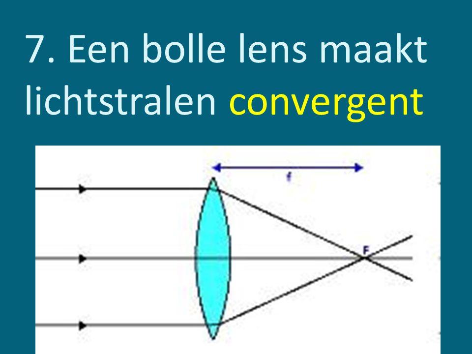 Voorwerpsafstand: afstand van het voorwerp tot de lens.