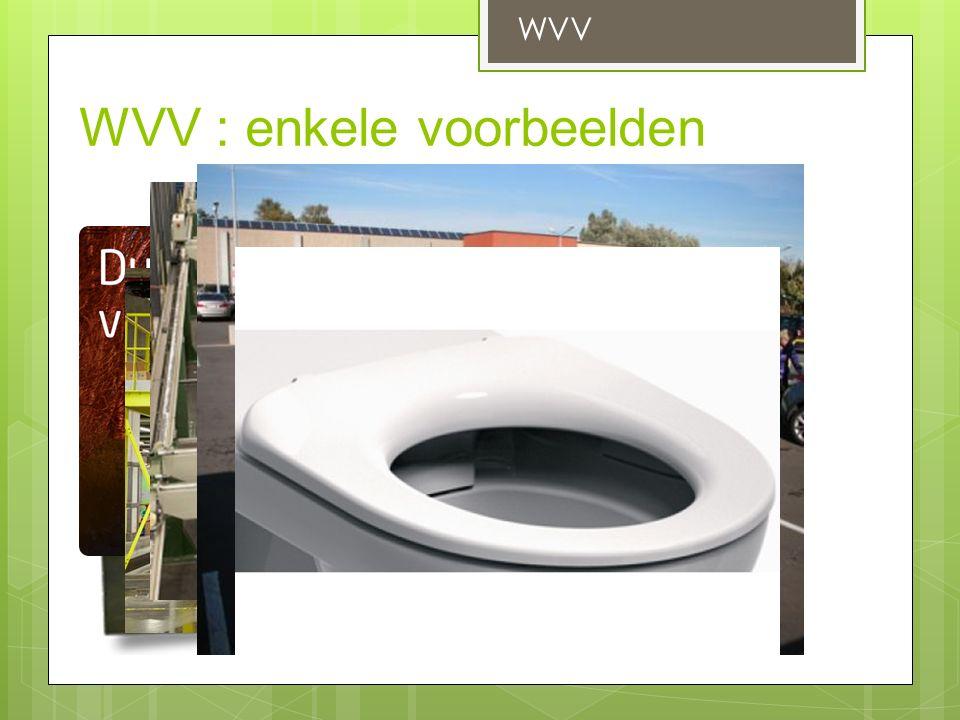 WVV : enkele voorbeelden WVV