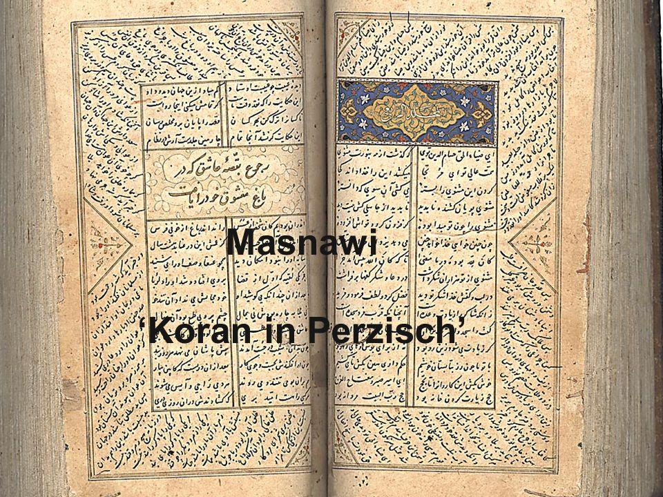 21 Masnawi 'Koran in Perzisch'