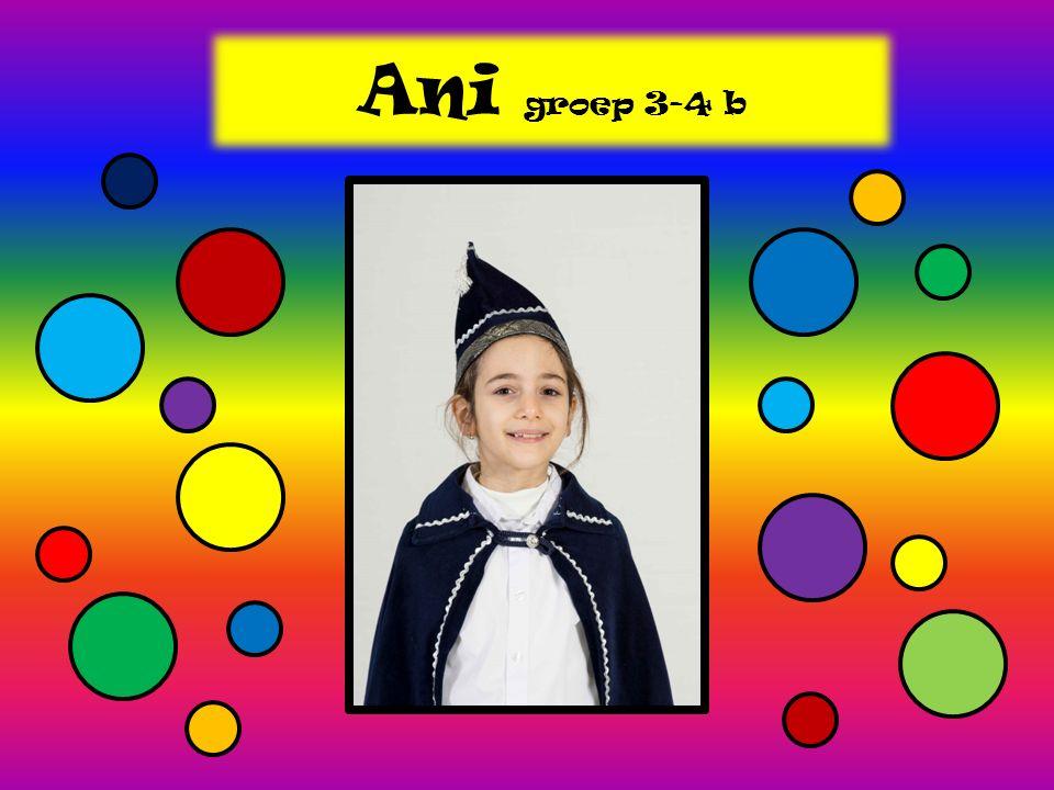 Ani groep 3-4 b