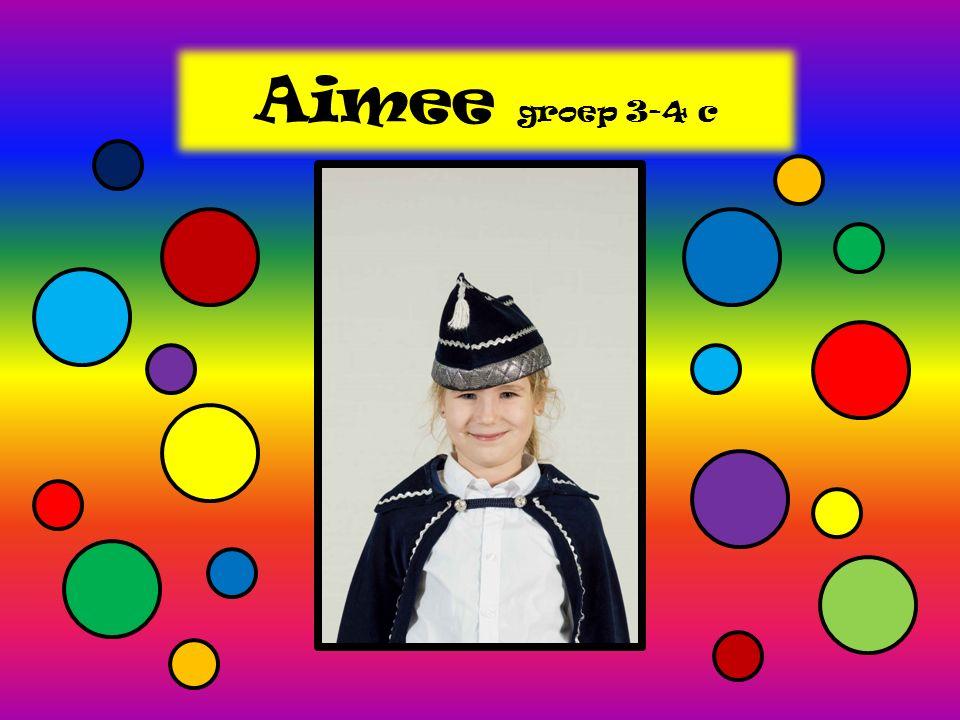 Aimee groep 3-4 c