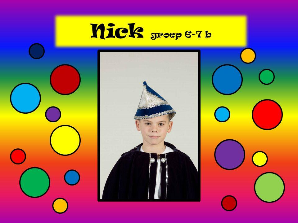 Nick groep 6-7 b