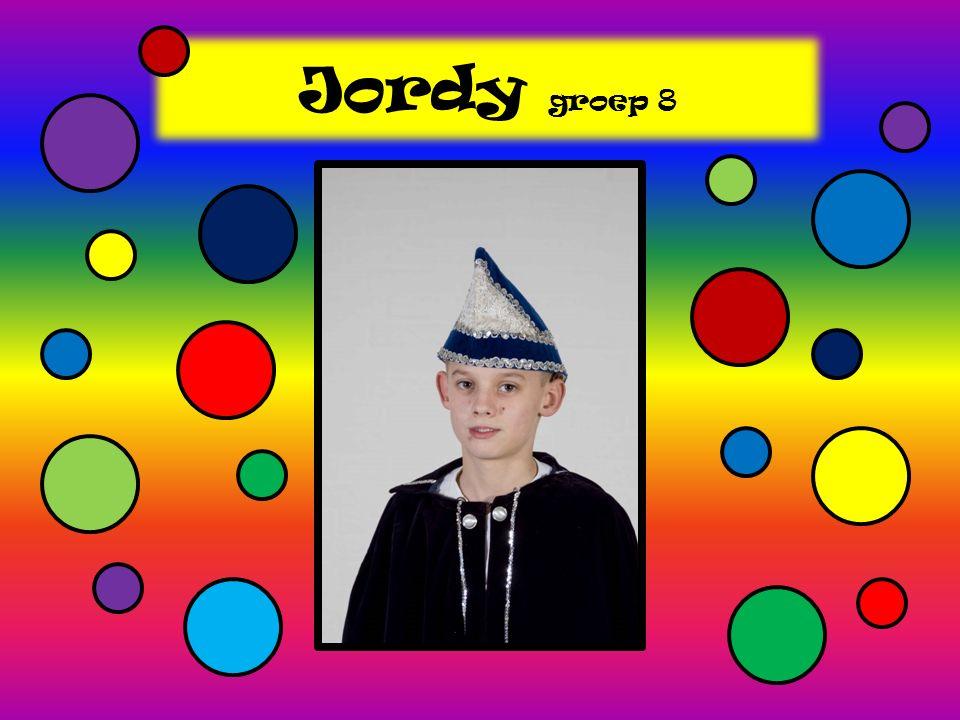 Jordy groep 8