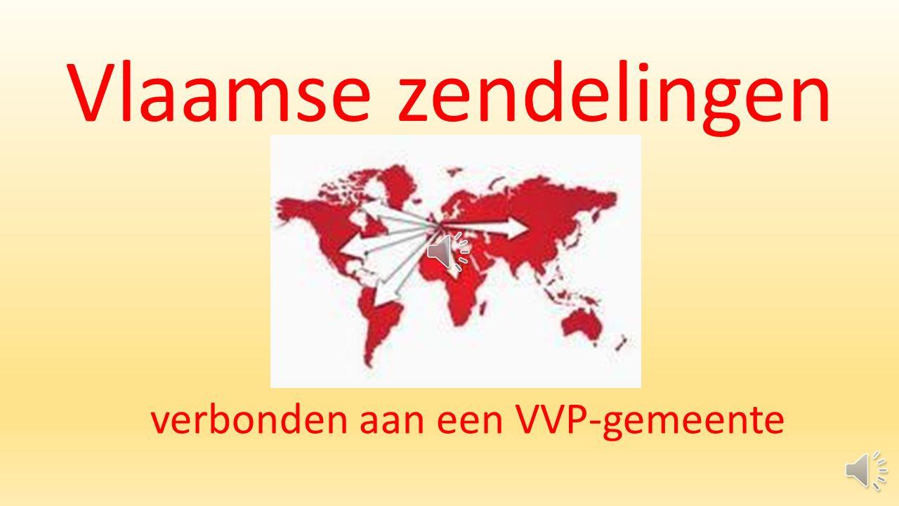 Vlaamse zendelingen verbonden aan een VVP-gemeente