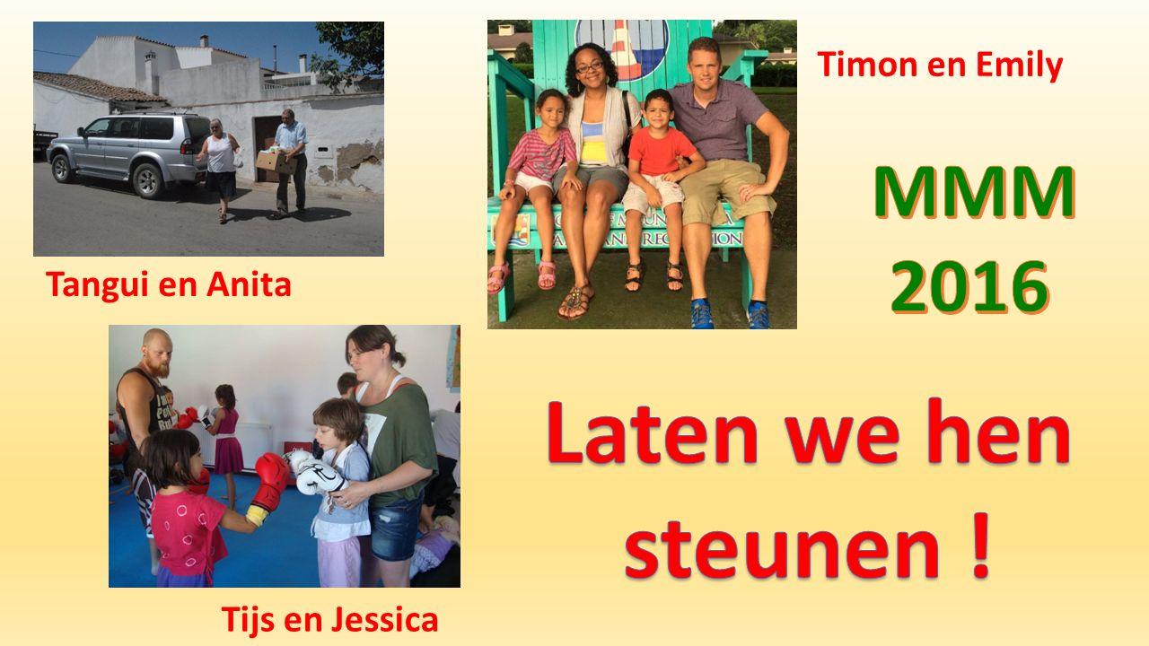Tangui en Anita Tijs en Jessica Timon en Emily