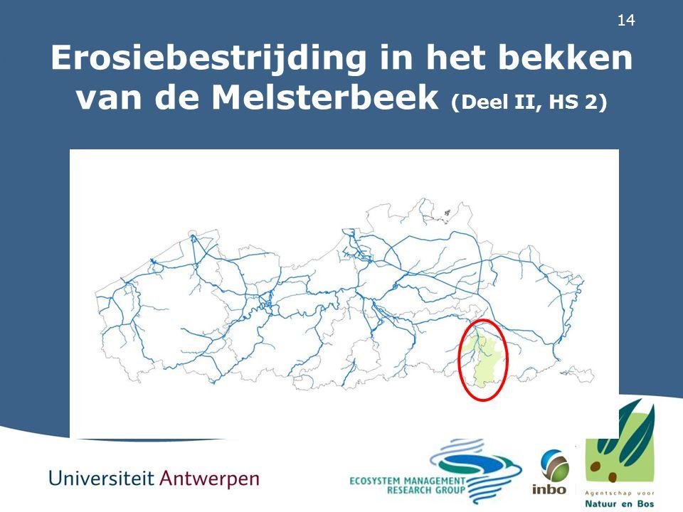 14 Erosiebestrijding in het bekken van de Melsterbeek (Deel II, HS 2)