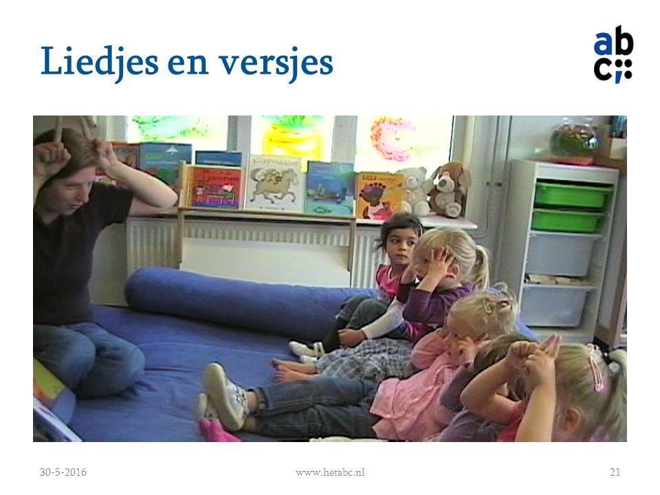 Liedjes en versjes 30-5-2016www.hetabc.nl21