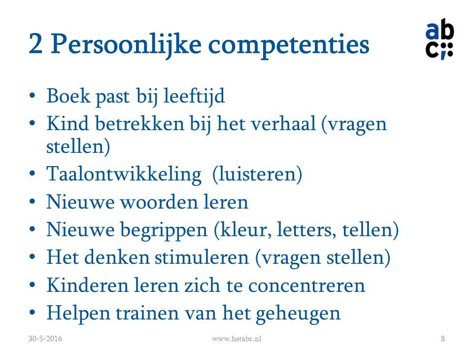 Voorlezen: 2-4 jaar 30-5-2016www.hetabc.nl19