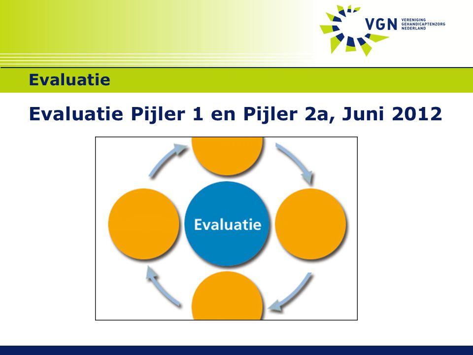 Evaluatie Evaluatie Pijler 1 en Pijler 2a, Juni 2012