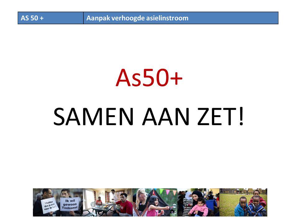 As50+ SAMEN AAN ZET!