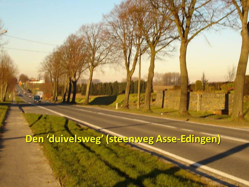 Den 'duivelsweg' (steenweg Asse-Edingen)