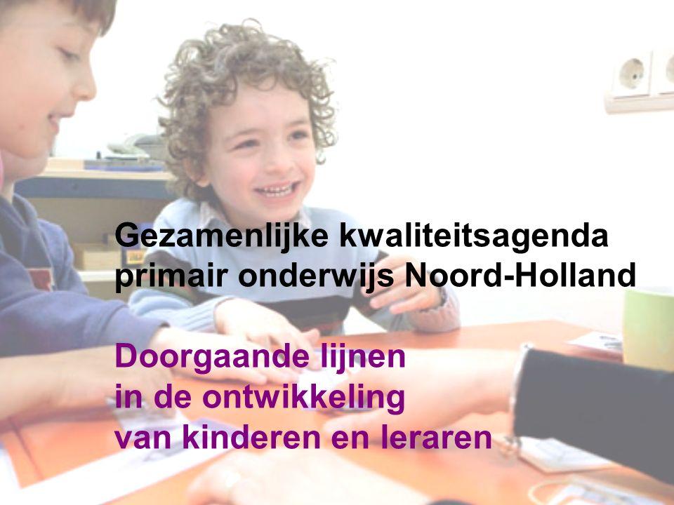 Ontwikkelingen in de samenleving in de 21 ste eeuw Doorgaande lijnen in de ontwikkeling van kinderen en leraren