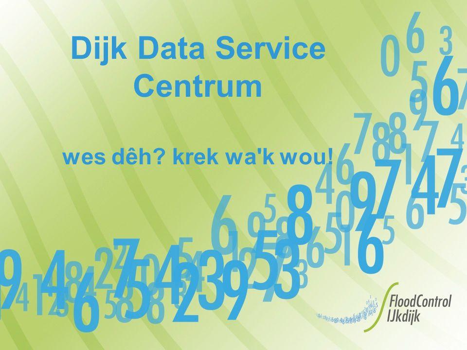 Dijk Data Service Centrum wes dêh krek wa k wou!