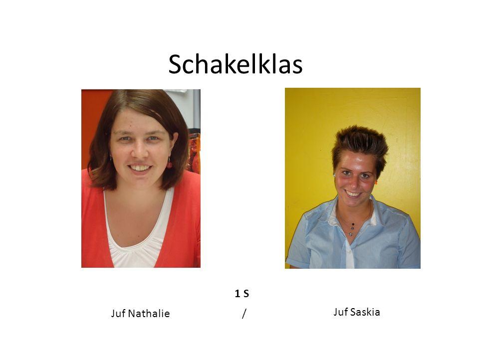 Eerste leerjaar 1 A1 B1 C1 D Juf Annelies Juf Elke VDH Juf Fran / Juf Lara Juf Sofie DB
