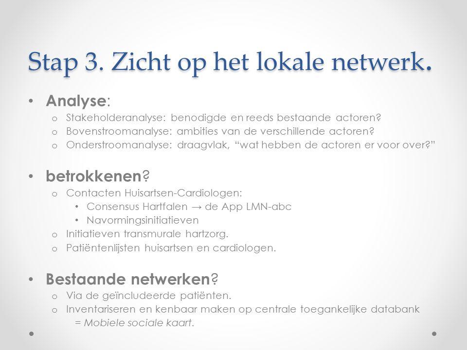 Stap 3. Zicht op het lokale netwerk.