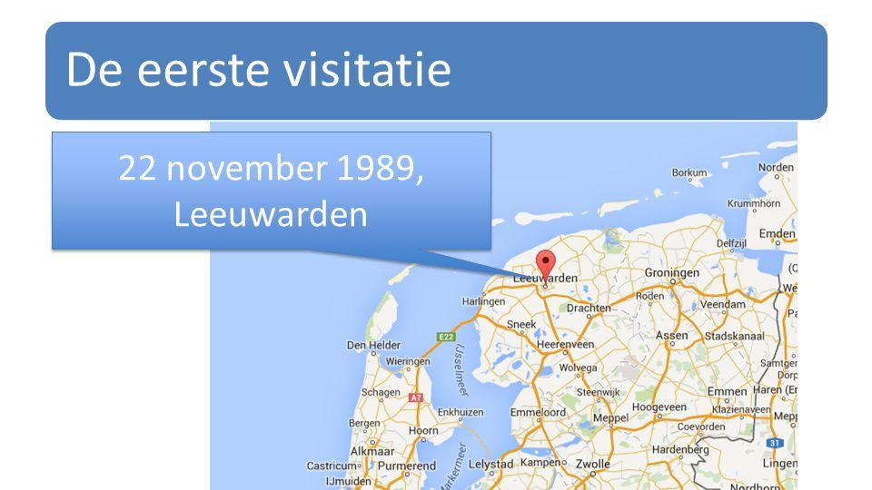 De eerste visitatie 22 november 1989, Leeuwarden