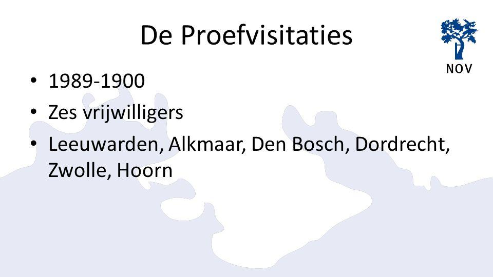 Aantallen visitaties 473 visitaties (t/m planning 2015)