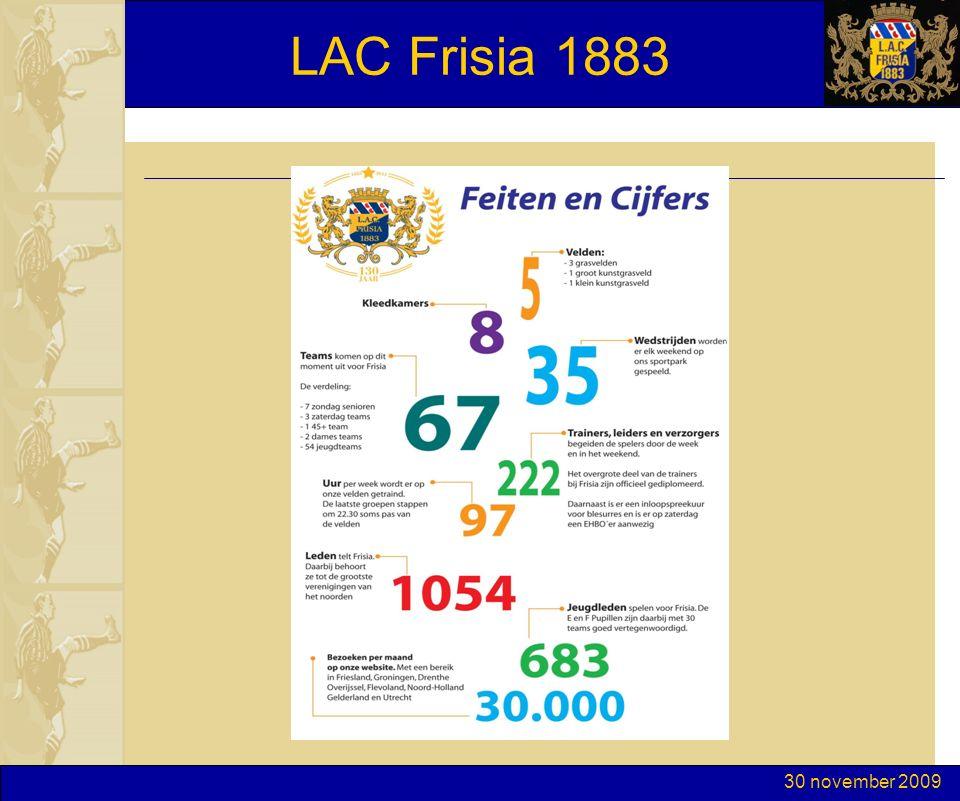 30 november 2009 LAC Frisia 1883