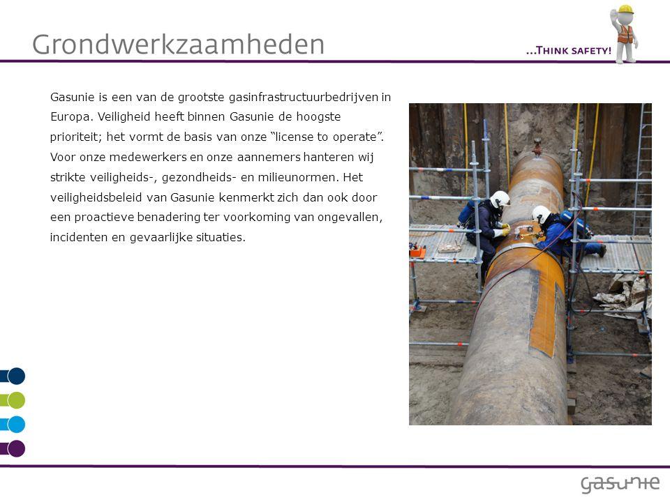 Gasunie is een van de grootste gasinfrastructuurbedrijven in Europa. Veiligheid heeft binnen Gasunie de hoogste prioriteit; het vormt de basis van onz