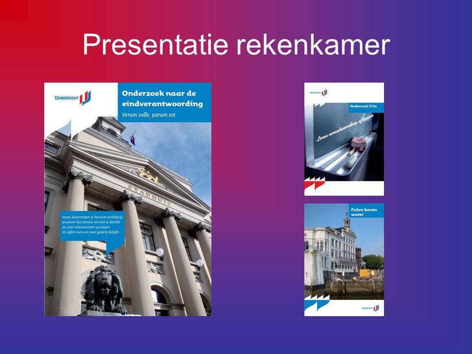 Wie is de rekenkamer Dordrecht De huidige rekenkamer bestaat uit: Directeur, dhr.