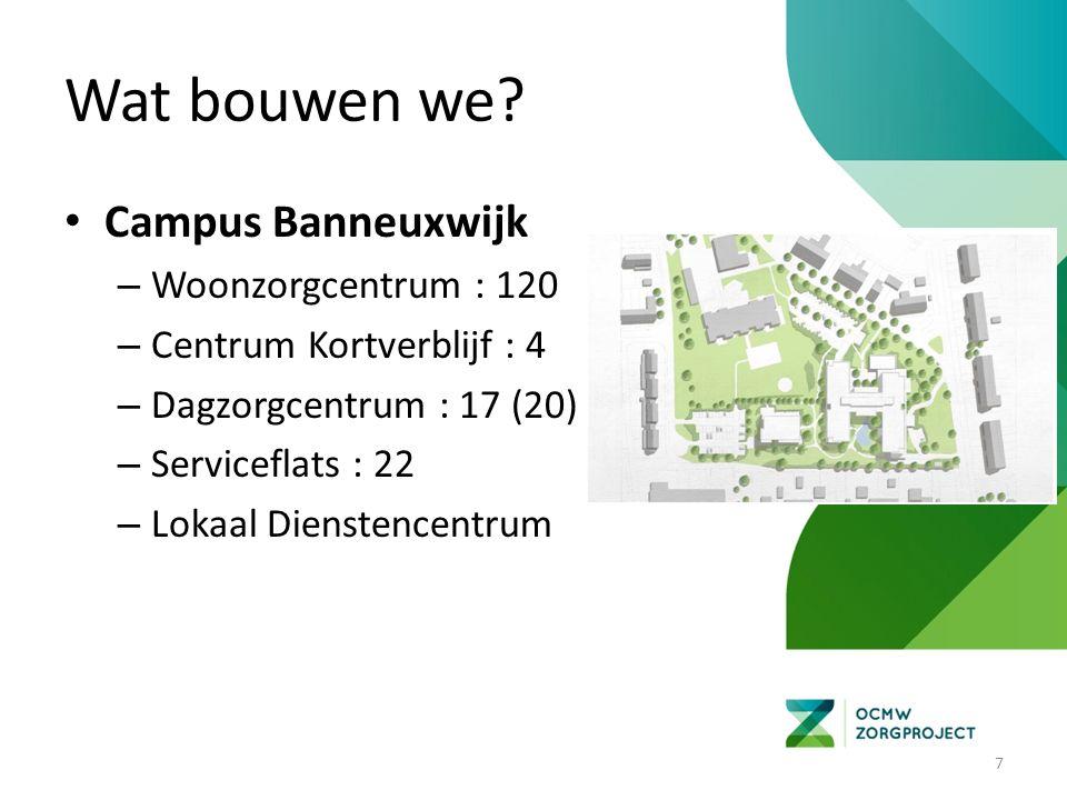 18 Werfinrichting campus Stadspark – Lokaal dienstencentrum