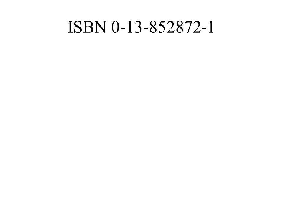 ISBN 0-13-852872-1