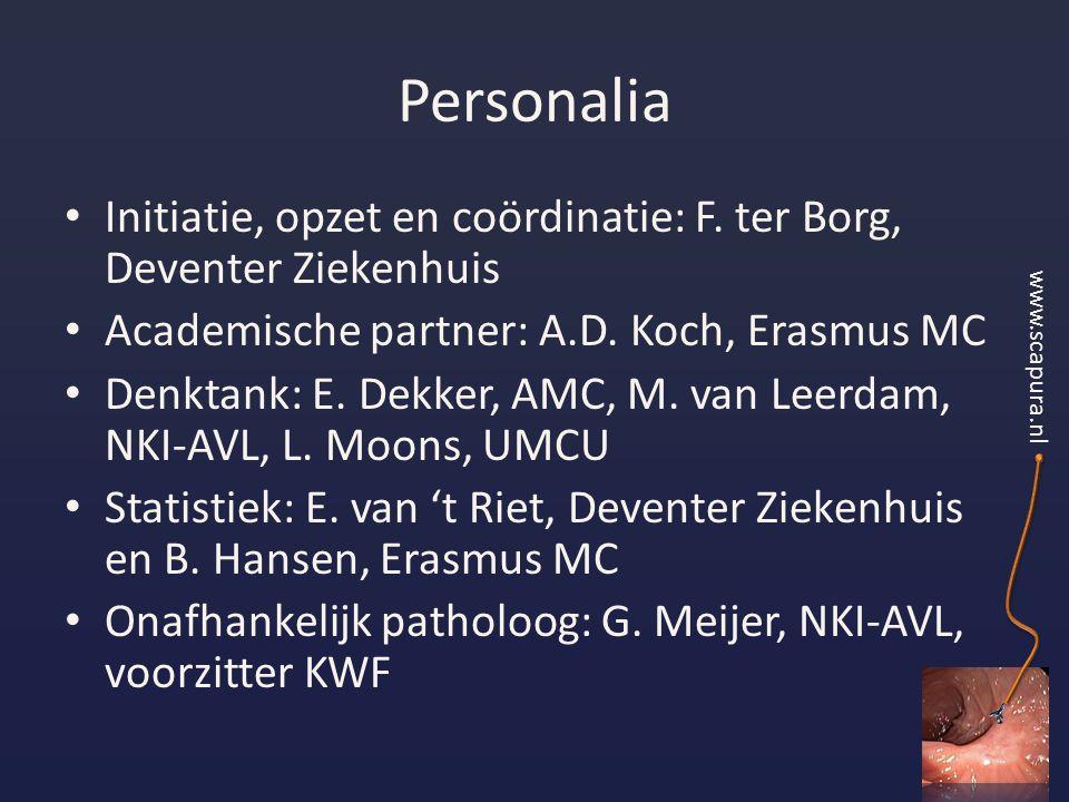 Personalia Initiatie, opzet en coördinatie: F.